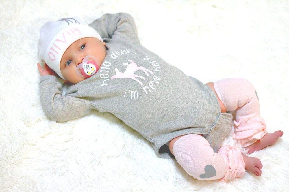 "alt=""baby girls deer outfit"""
