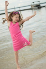 Girls Monogrammed Swimsuit Coverup