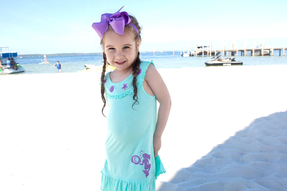 Mermaid Summer Birthday Dress