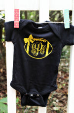"alt=""baby girls football shirt"""