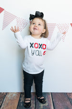 girls toddler valentine's day shirt