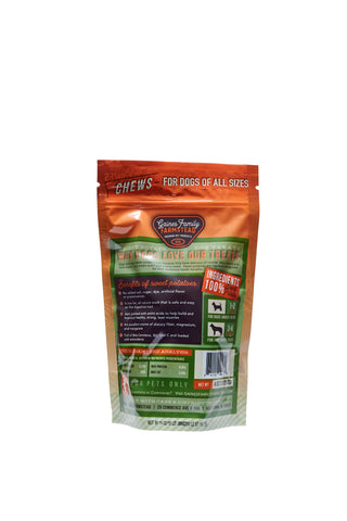 Sweet Potato Chews - 4 oz - FREE SHIPPING - Gaines Family Farmstead