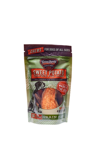 Sweet Potato Chews - 4 oz - FREE SHIPPING