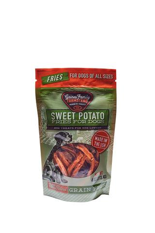 Sweet Potato Fries - 4 oz Bag - FREE SHIPPING