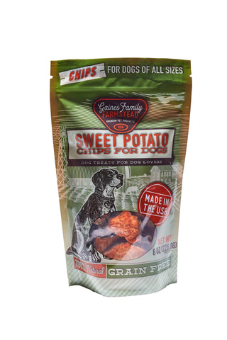Sweet Potato Chips - 8 oz. bag - FREE SHIPPING