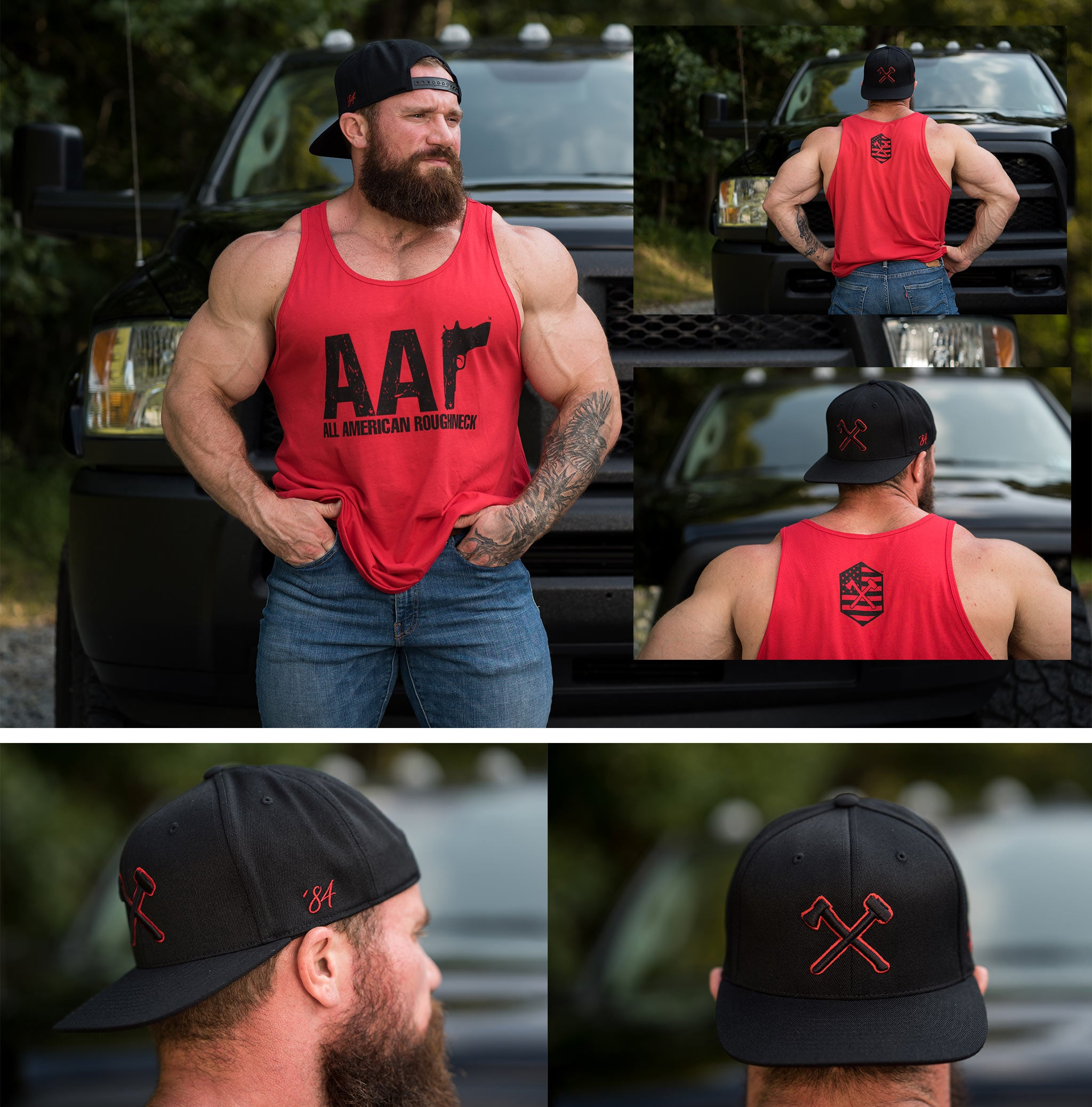 AAR Logo Tee and Snapback