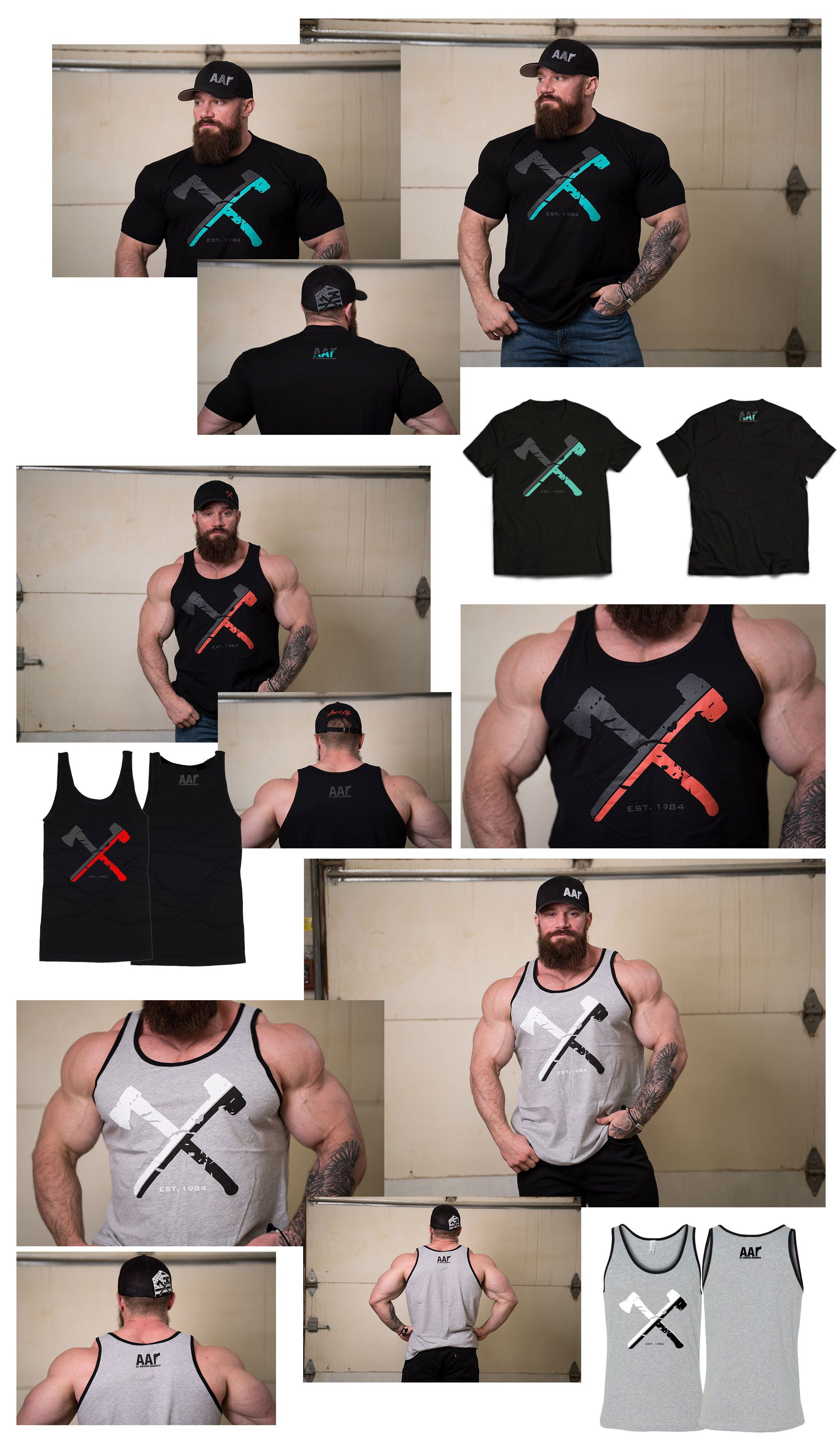 Split Axe|Sledge Tees/Tanks