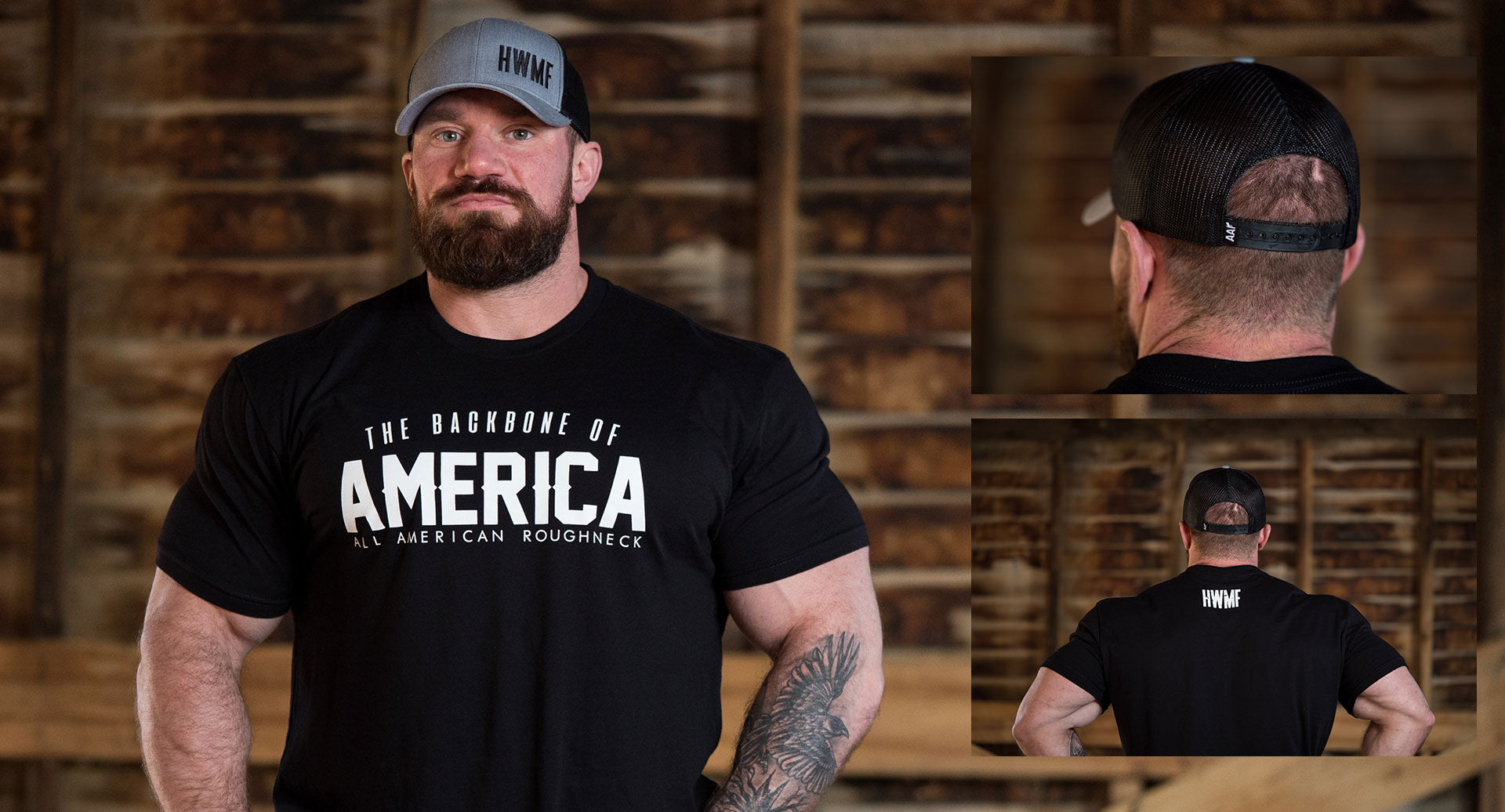 Backbone of America Tee