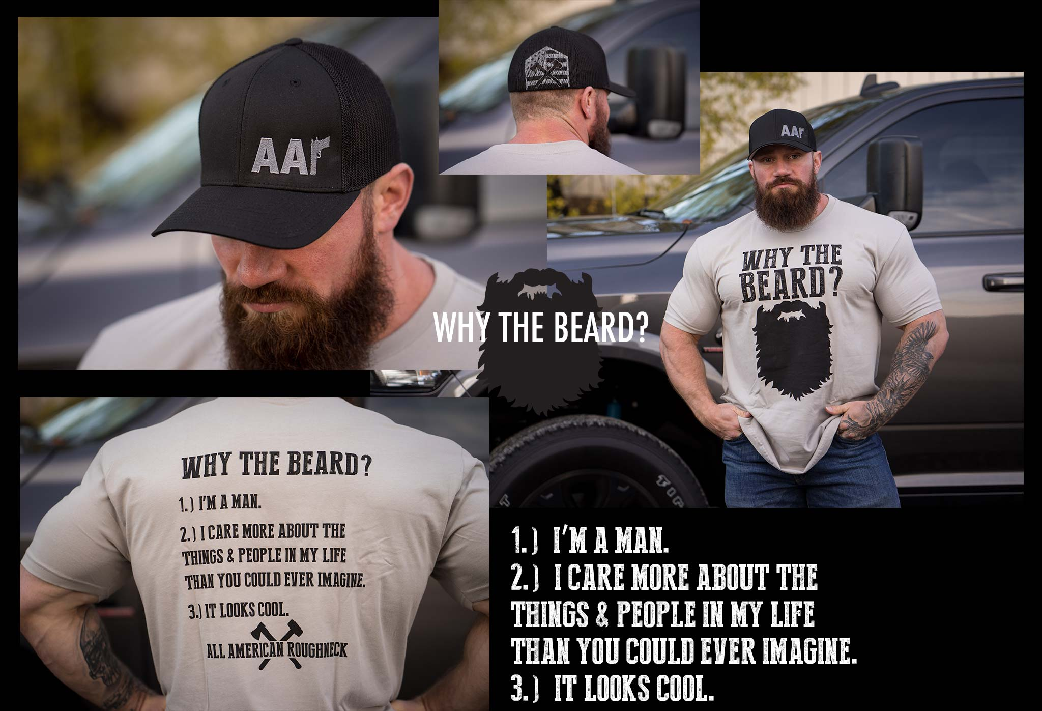 Why The Beard Tee