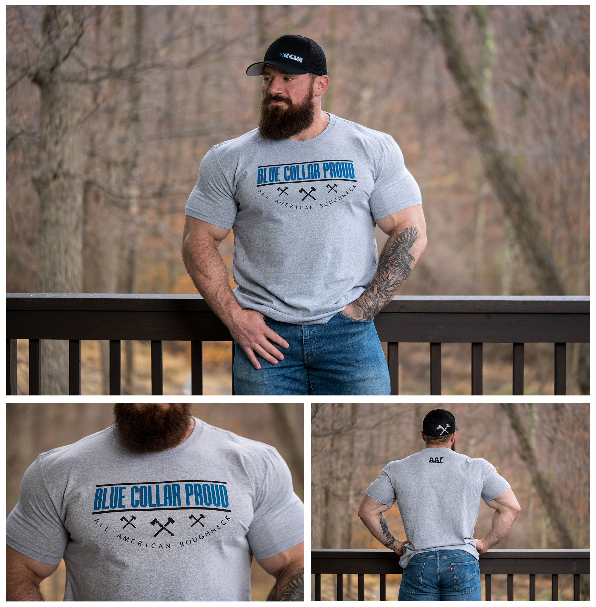 Blue Collar Proud Tee