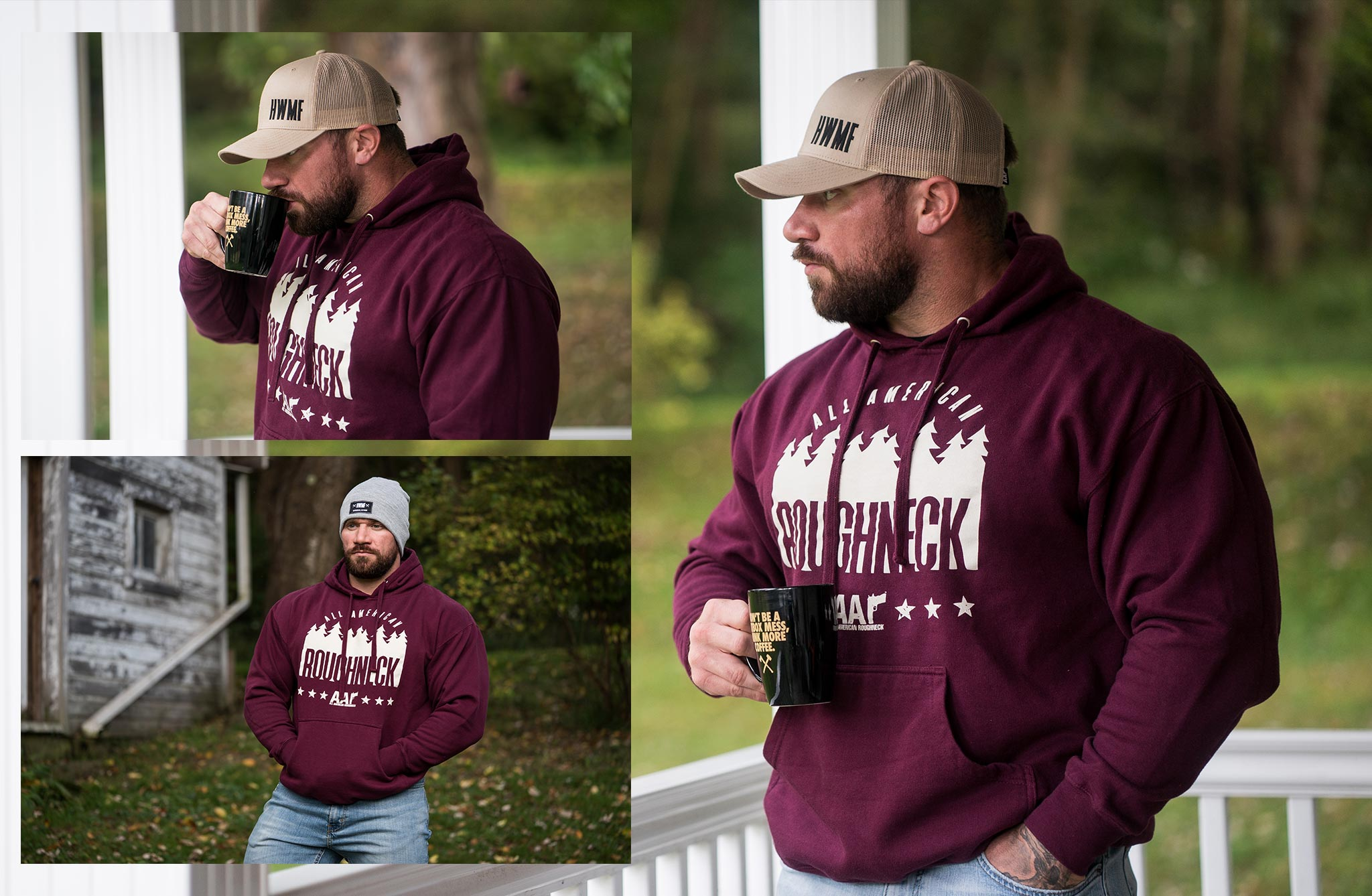 Roughneck Forest Hoodie