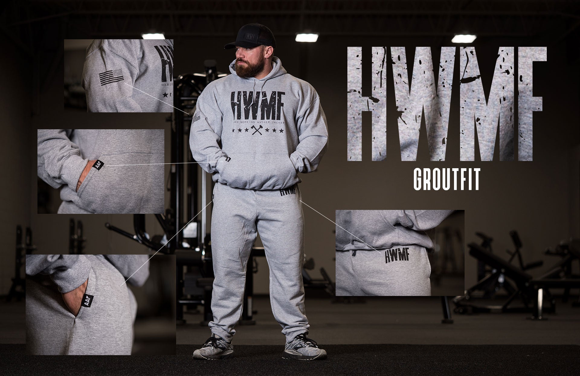 HWMF Hoodie and Joggers