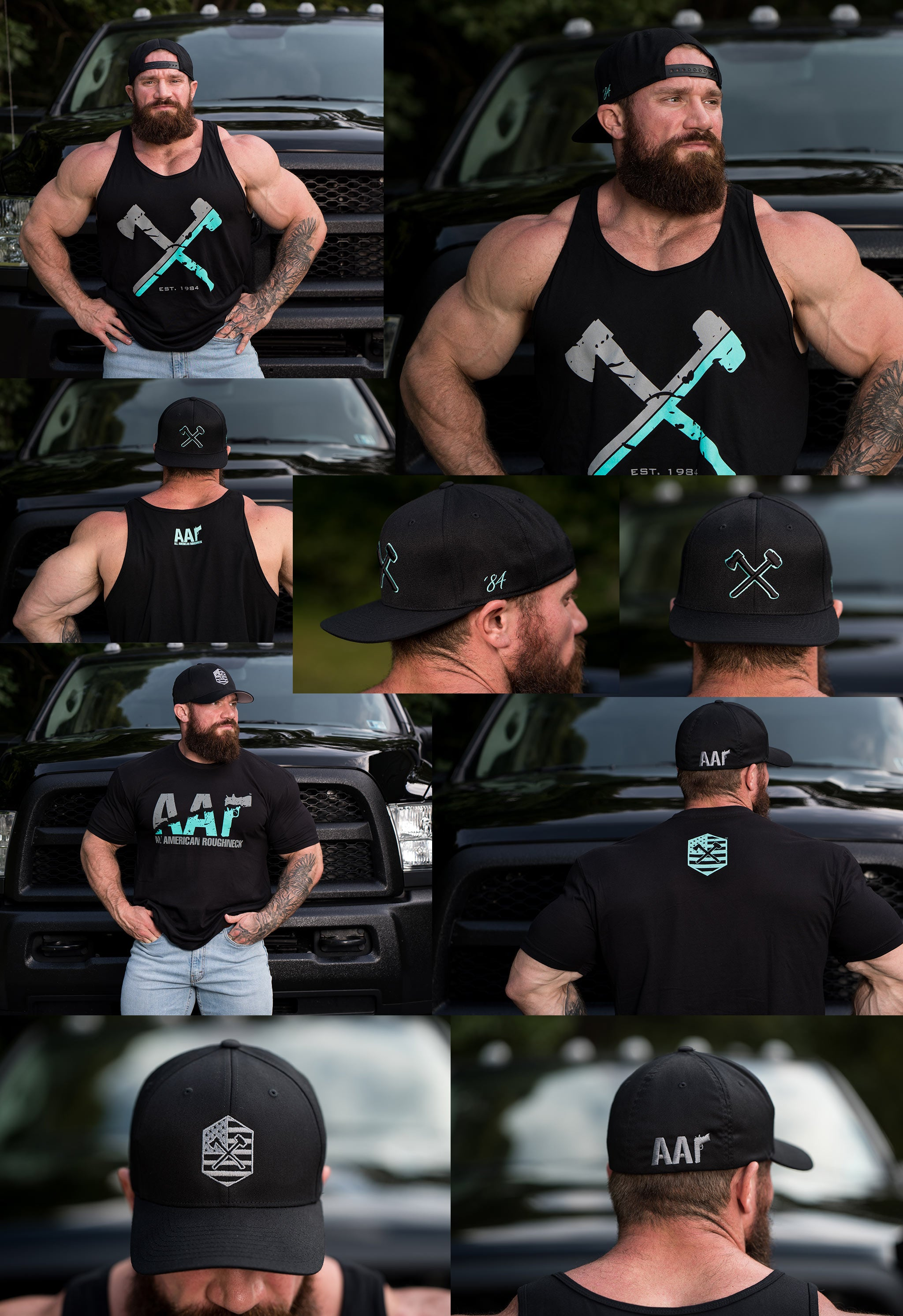 Mint Tees, Tanks, and Hats