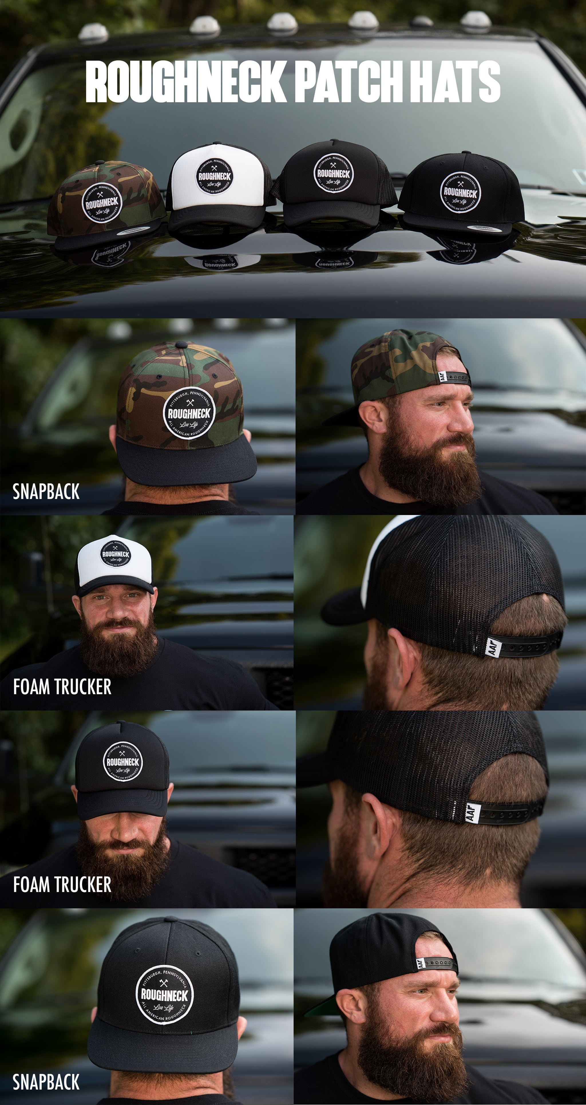 Roughneck Patch Hats