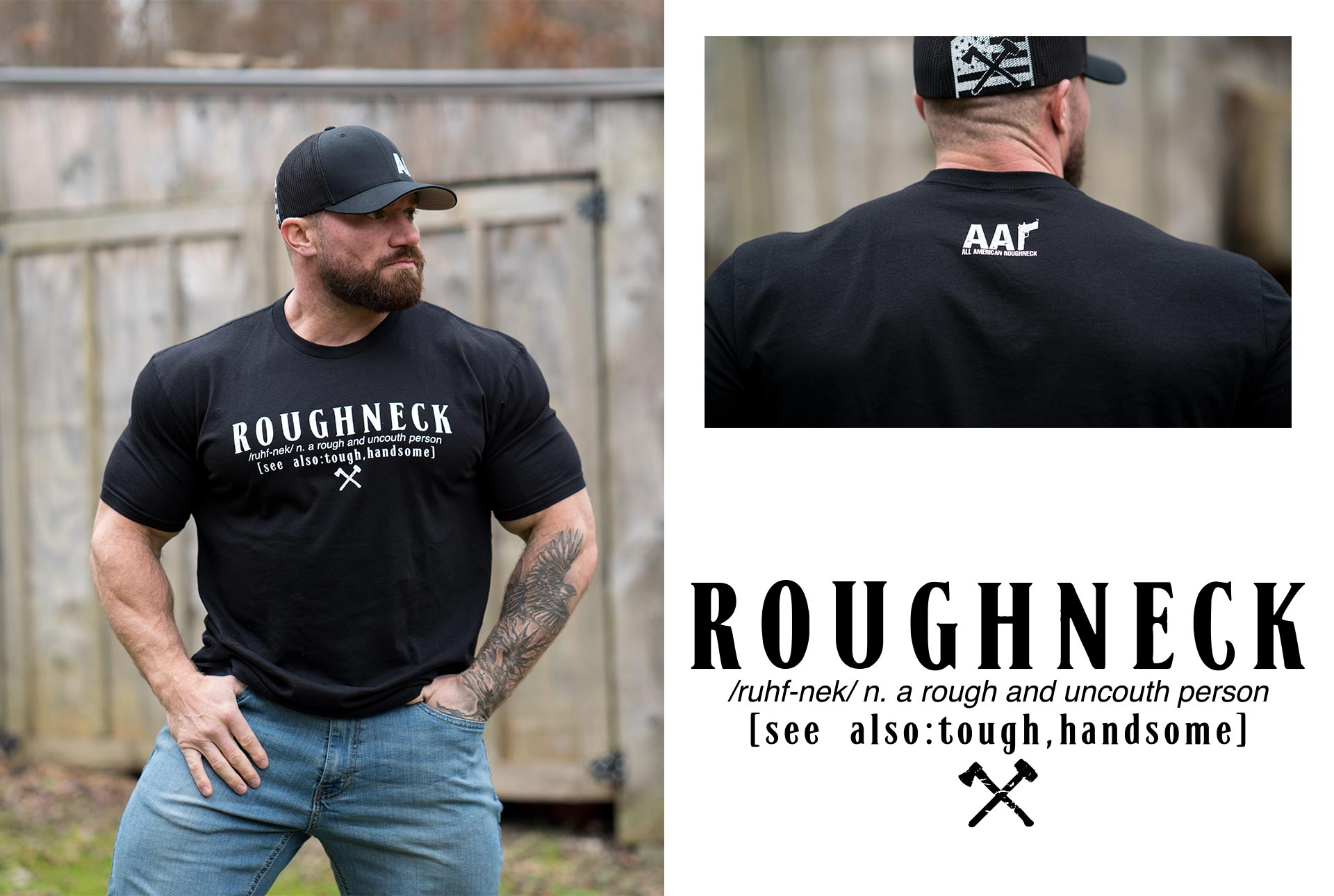 Roughneck Definition Tee