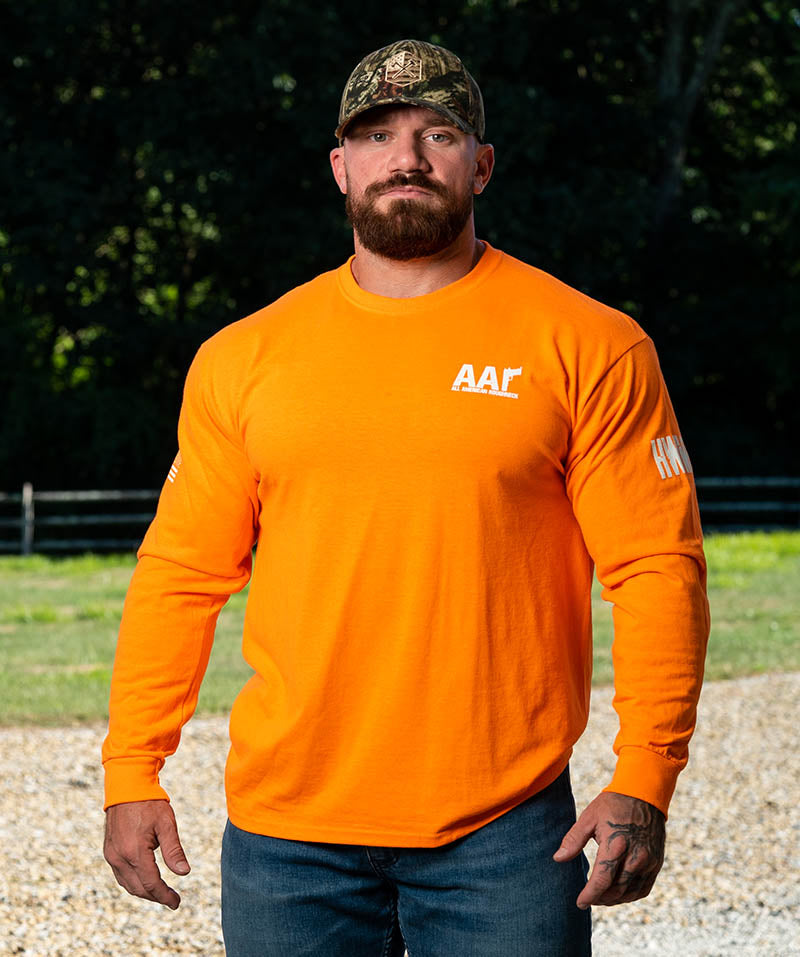 Long Sleeve Orange