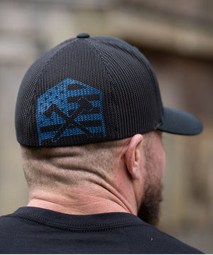 Thin Blue Line Mesh Hat