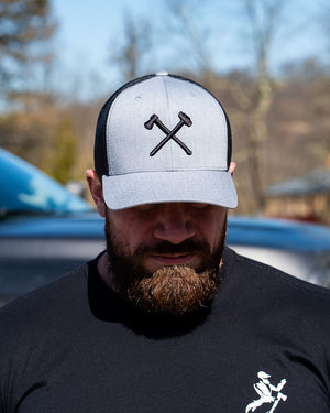 Heather Axe|Sledge Logo Hat