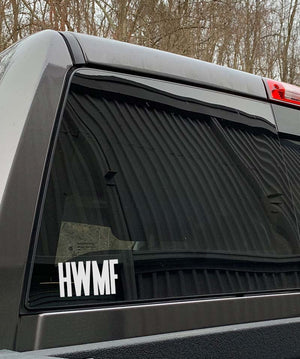 HWMF Car Decal