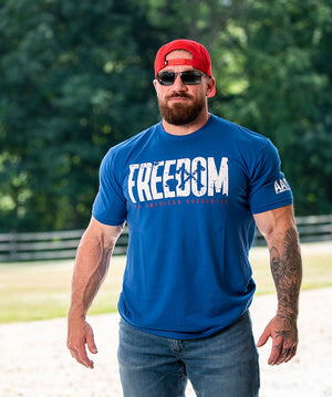 Freedom Tee - Royal