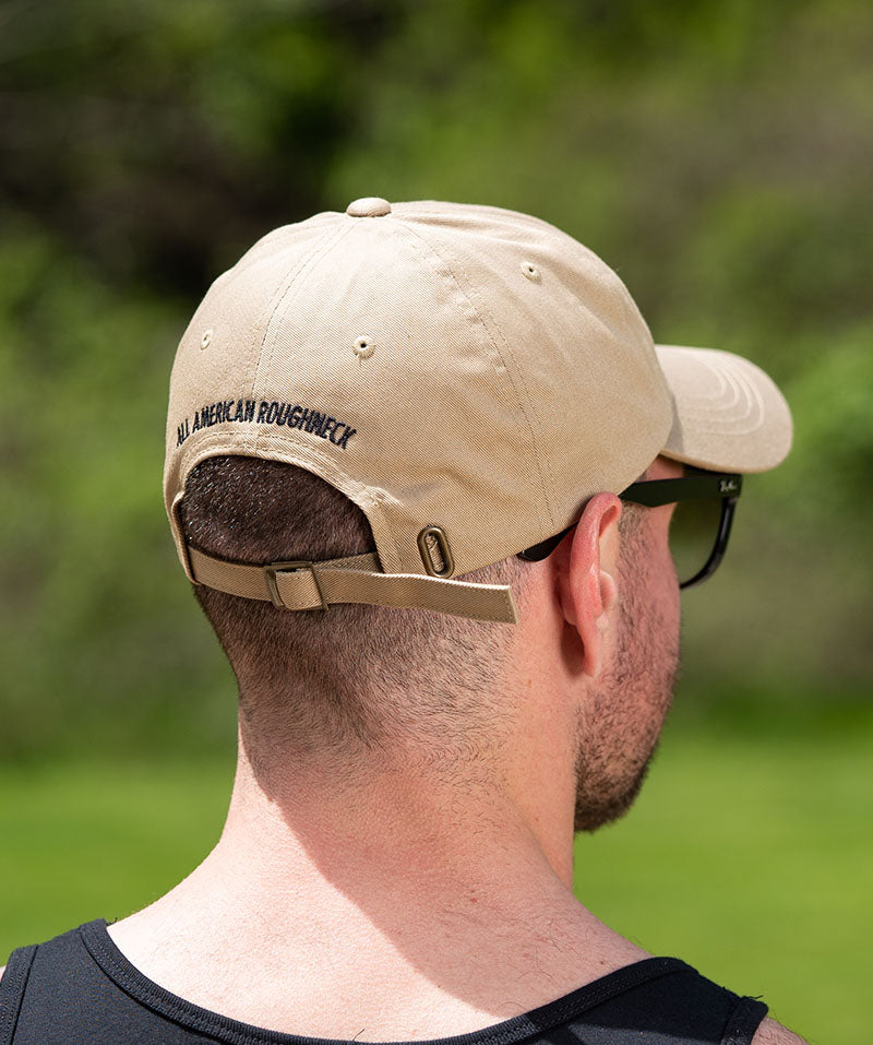 Khaki Axe & Sledge Dad Hat
