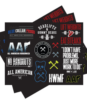 AAR Sticker Sheet