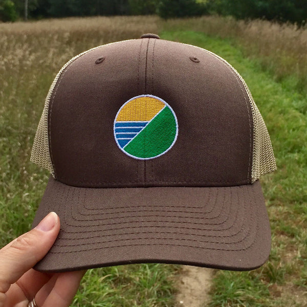 Elements Trucker Hat - Brown
