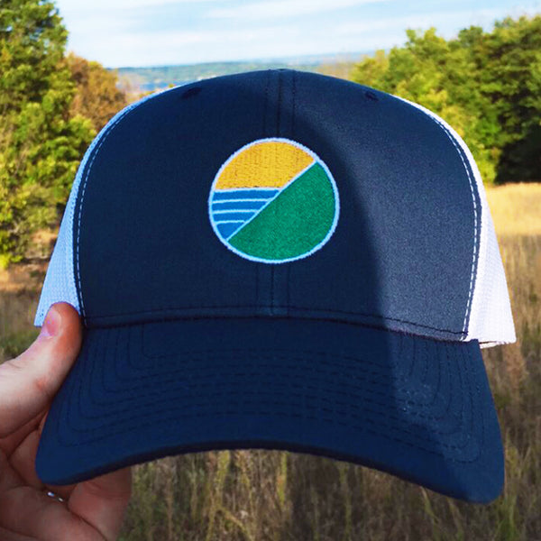 Elements Trucker Hat - Navy
