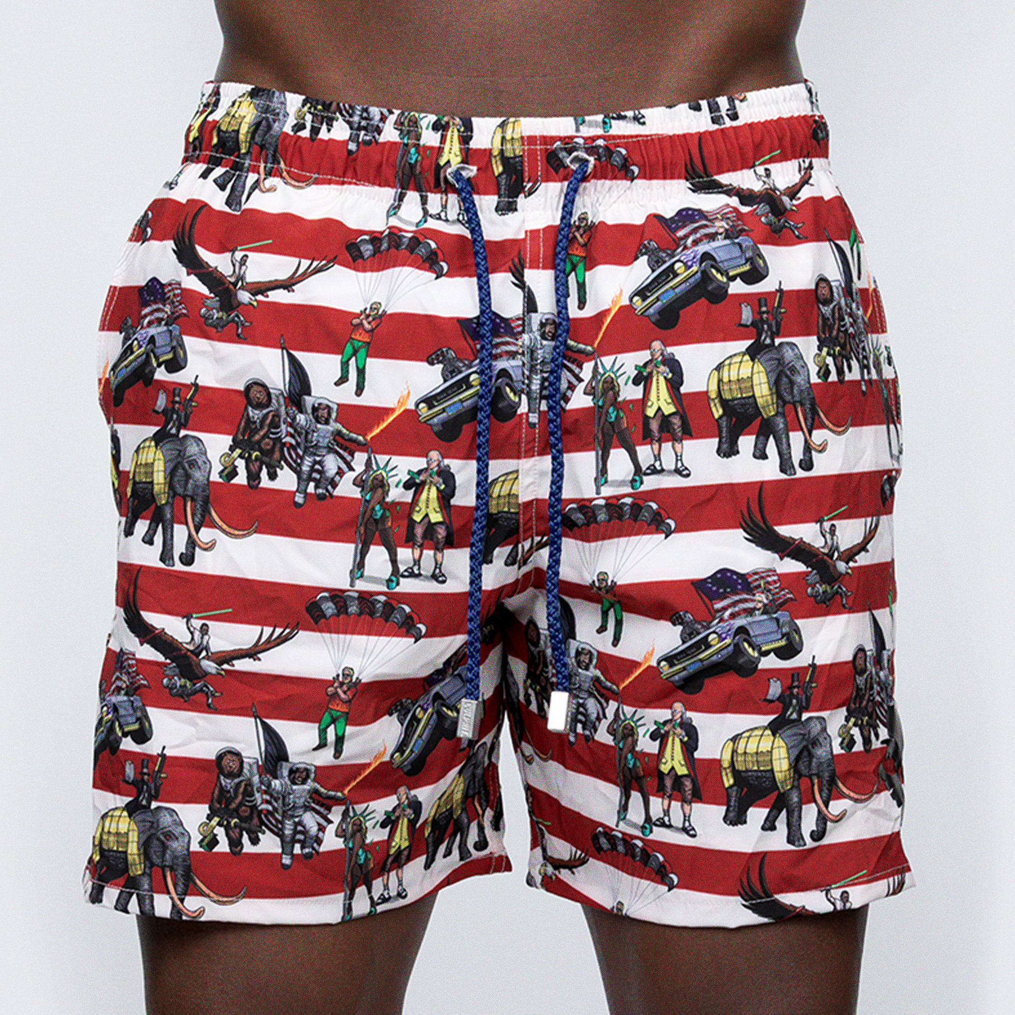 Swim Trunks: Team America