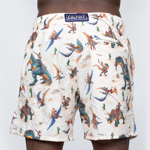 Swim Trunks: Jurassic Western
