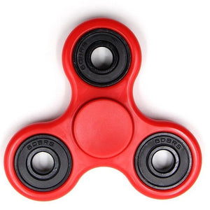 Tri-Spinner Fidget Toy Plastic EDC Anti Stress 8 Styles - CanadianGeeseWholesale