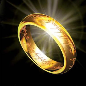 Fashion Hobbit Tungsten One Ring of Power - Various Styles