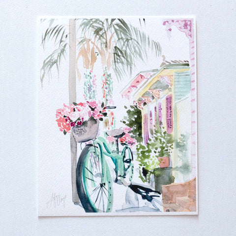 Bicycle in the Marigny