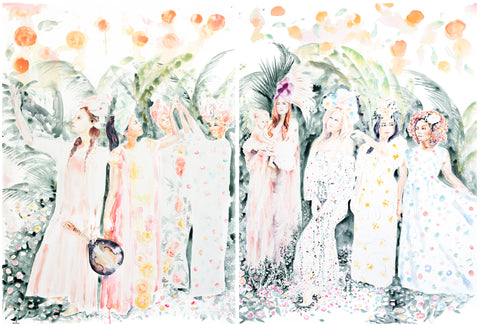 The Garden of Hesperides limited edition print