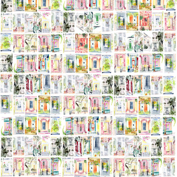 "Gift Wrap ""Doors of New Orleans"""