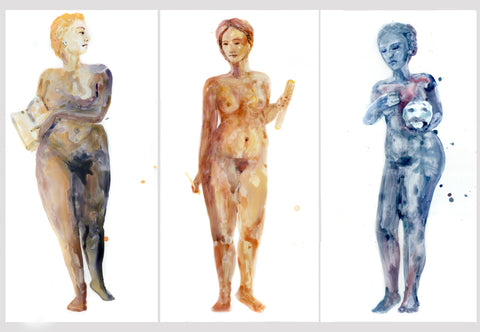 Muses Triptych II