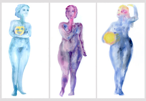 Muses Triptych III