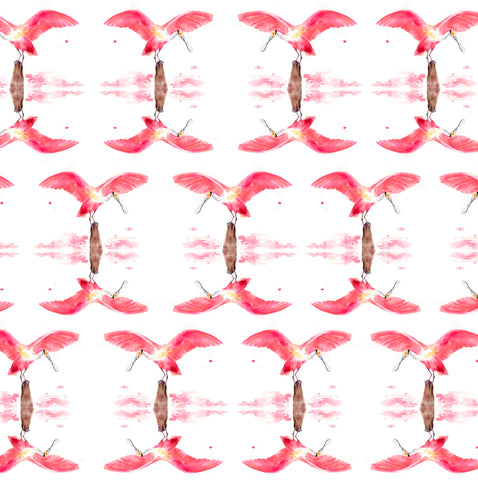 Roseate Spoonbill Gift Wrap