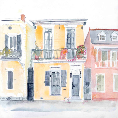 French Quarter Sunrise print