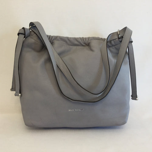 MICHAEL Michael Kors Angelina Gray Soft Leather Tote
