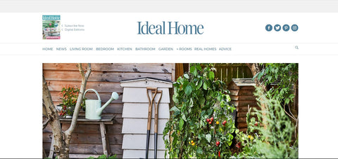Ideal Home Web Page