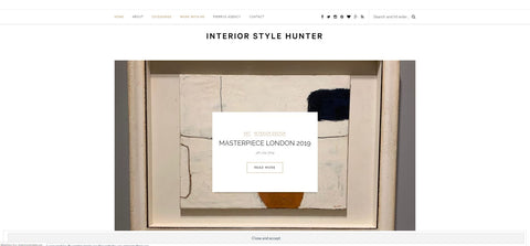 Interior Style Hunter Web Page
