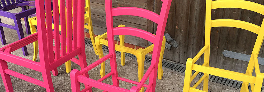 Multiple Chair Frames - Cheeky Chairs