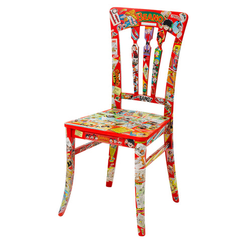 My Favourite Place Decoupage Chair - beautifully capture and celebrate  priceless memories  from a special location for years to come.