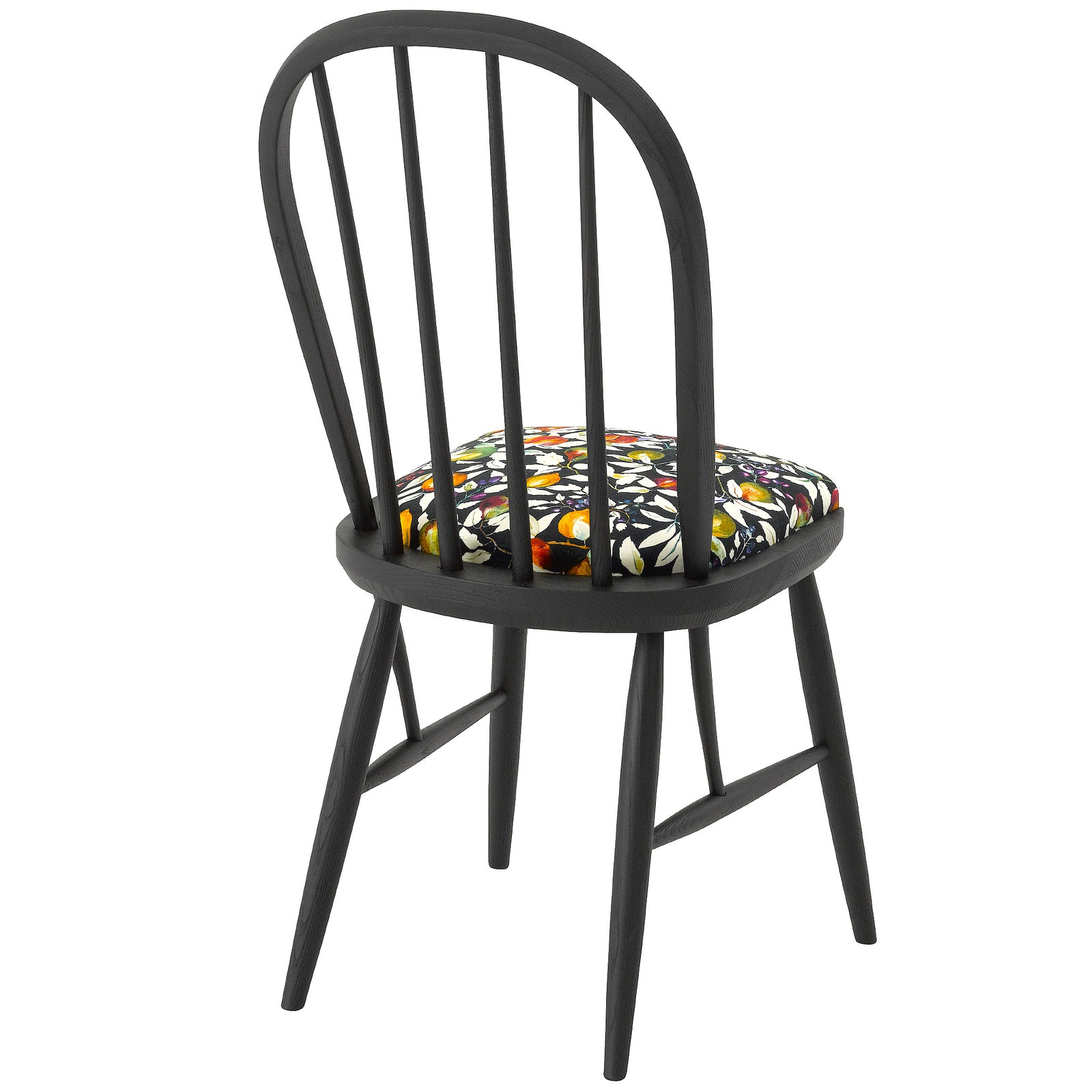 The Elkin Dining Chair Upholstered in Liberty Of London Fruit Billett