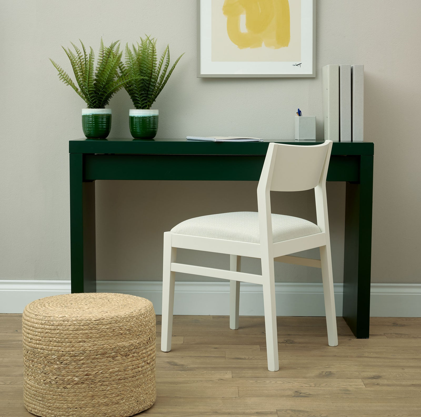 The  Stylish James Chair in the superb Scribble from Warwick