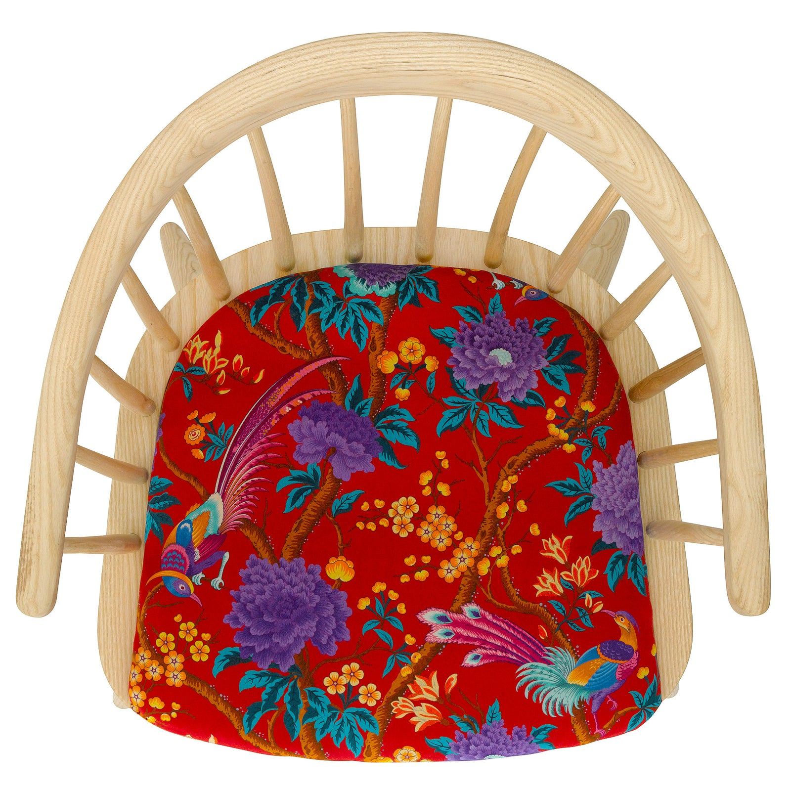 The Darwin Armchair in Elysian Paradise by Liberty London