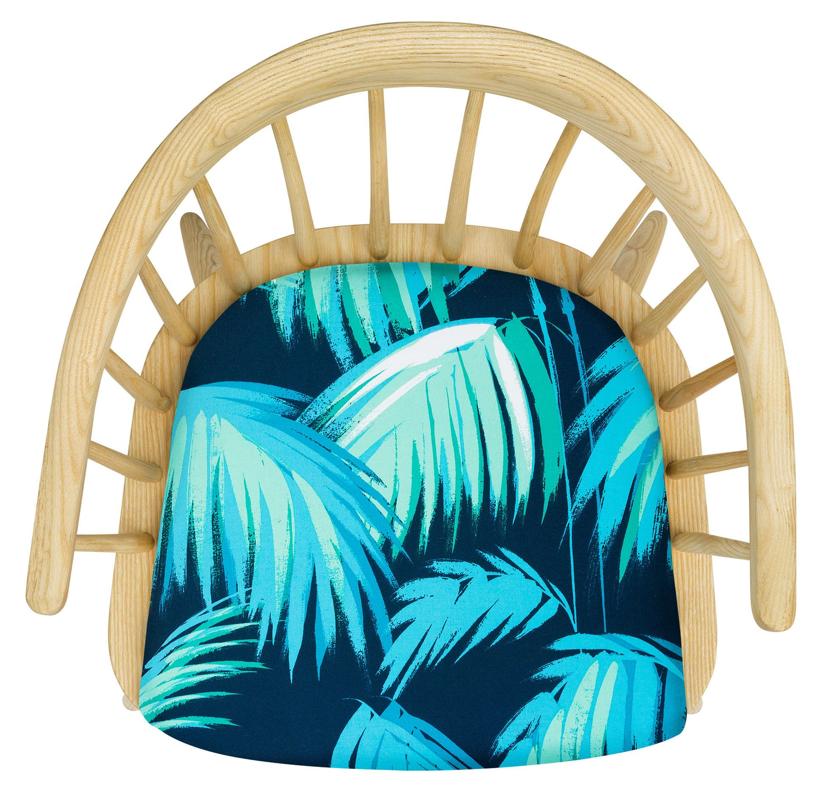The Stunning Darwin Armchair Upholstered in Tropicana by Matthew Williamson