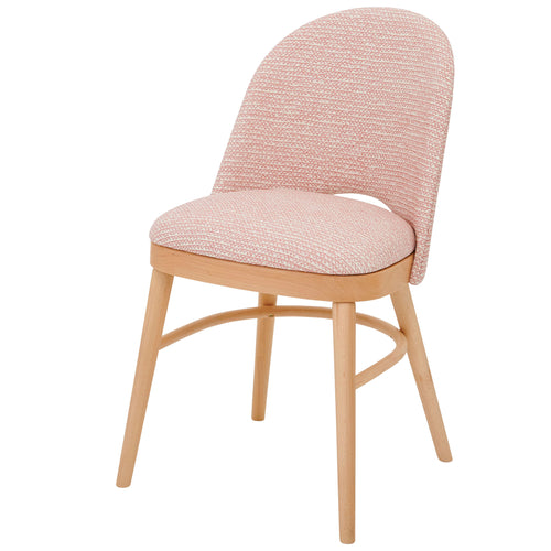 Stylish Ella Chair in the beautiful Mendip in Red from Fermoie