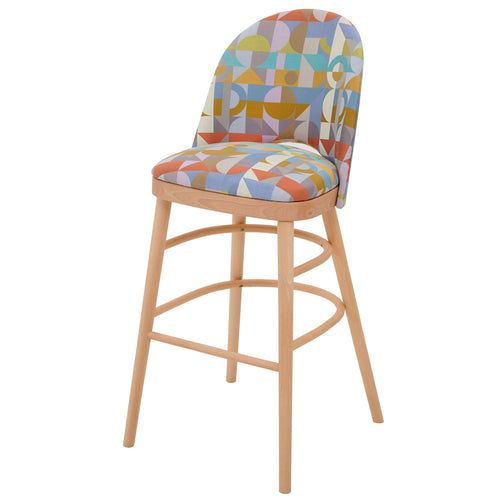 Ella Luxury Bar Stool in the beautiful Motown from Margo Selby